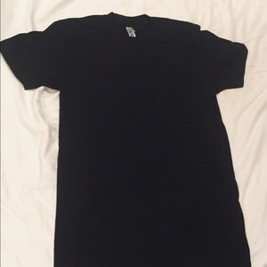 Black American Apparel 50/50 shirt small